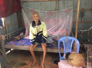 Hoàn cảnh chú Lành ở An Giang