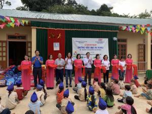 Khánh thành trường Thăm Hón - Nghệ An