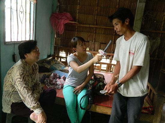 Gia đình anh Thuận ở Trà Vinh