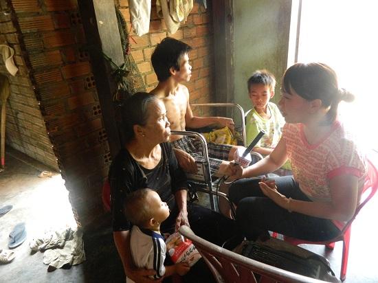 Gia đình cô Hài ở Bình Thuận