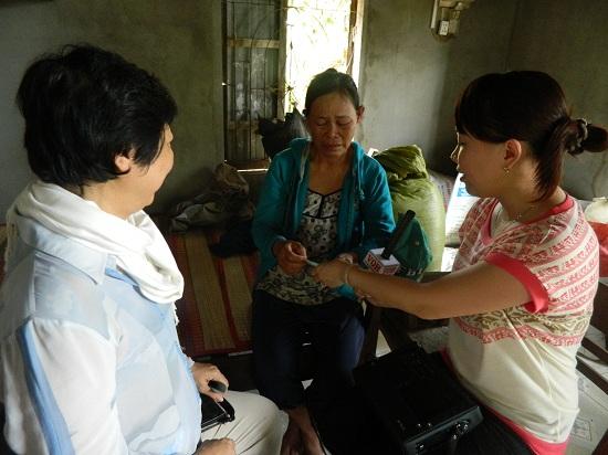 Gia đình cô Phan Thị Lý ở Bình Thuận