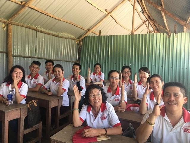 Kế hoạch đi khánh thành trường ở Quảng Nam