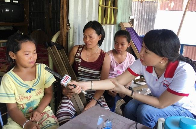 """Radio kỳ 308: Chị Diễm ở Đồng Tháp và 4 đứa con thơ: """"Xin hãy cứu mẹ con!"""""""