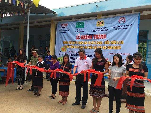 Lễ khánh thành trường tiểu học Xã Dang - tỉnh Quảng Nam.